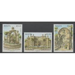 Malte - 2014 - No 1769/1771 - Monuments