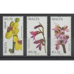 Malte - 2014 - No 1780/1782 - Fleurs