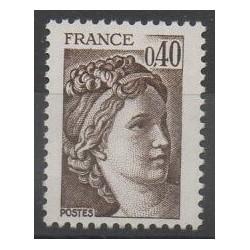 France - Variétés - 1981 - No 2118a