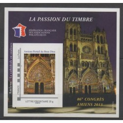 France - Feuillets FFAP - 2013 - No FFAP 7 - Eglises