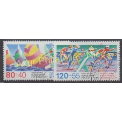 West Germany (FRG) - 1987 - Nb 1142/1143 - Sport - Used