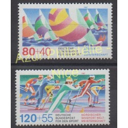 West Germany (FRG) - 1987 - Nb 1142/1143 - Sport