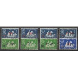 Saint-Pierre et Miquelon - 1945 - No 315/322 - neuf avec charnière