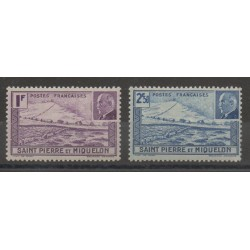 Saint-Pierre et Miquelon - 1941 - No 210/211
