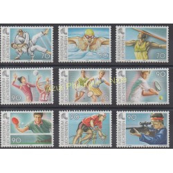 Timbres - Thème sports divers - Liechtenstein - 1999 - No 1144/1152