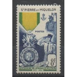 Saint-Pierre et Miquelon - 1952 - No 347 - neuf avec charnière