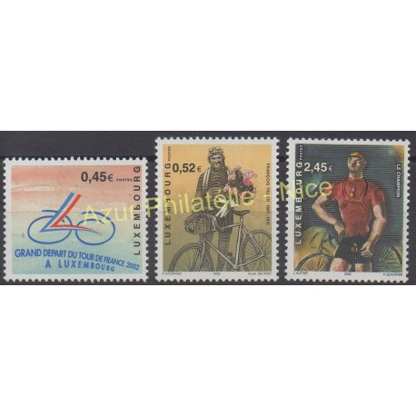 Luxembourg - 2002 - No 1528/1530 - Sport