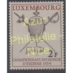 Luxembourg - 1954 - Nb 482 - Sport