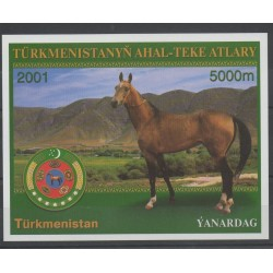 Turkménistan - 2001 - No BF 32 - Chevaux