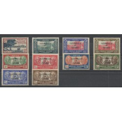 Wallis et Futuna - 1939 - No 77/86