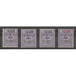 Wallis et Futuna - 1922 - No 26/29