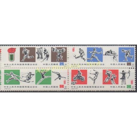 Chine - 1979 - No 2237/2240 - Sport