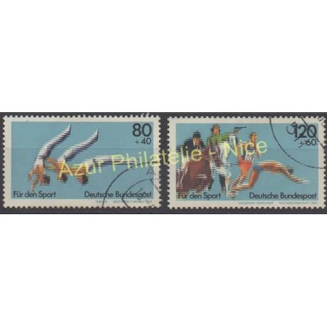 West Germany (FRG) - 1983 - Nb 1004/1005- - Sport - Used