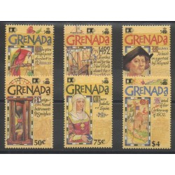 Grenade - 1992 - Nb 2115/2120 - Christopher Colombus