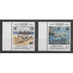 Grenadines - 1992 - No 1339/1340 - Christophe Colomb
