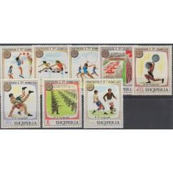 Albania - 1974 - Nb 1545/1552 - Sport