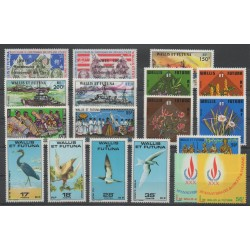 Wallis and Futuna - Complete year - 1978 - Nb 208/225