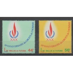 Wallis et Futuna - 1978 - No 224/225 - Histoire