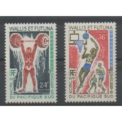 Wallis et Futuna - 1971 - No 178/179 - sports divers