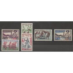 Wallis et Futuna - 1957 - No 157/158B