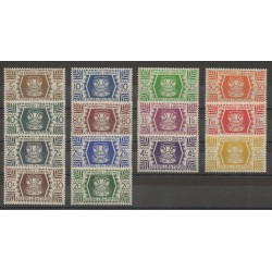 Wallis and Futuna - 1944 - Nb 133/146 - mint hinged