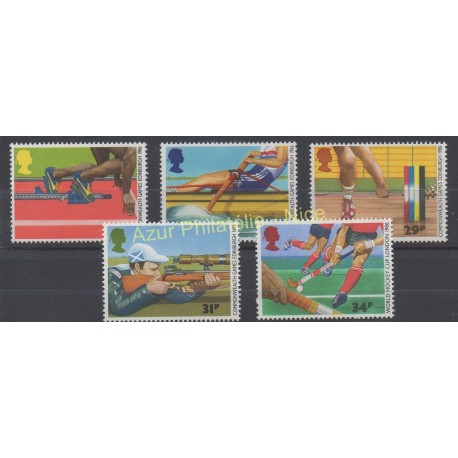 Great Britain - 1986 - Nb 1231/1235 - Sport