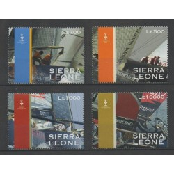Sierra Leone - 2008 - No 4269/4272 - bateaux