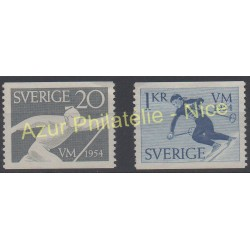 Sweden - 1954 - Nb 385/386 - Sport - Mint hinged