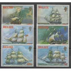Belize - 1982 - Nb 574/579 - boats