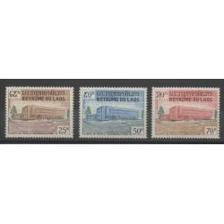 Laos - 1967 - Nb 153/155