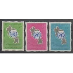 Laos - 1965 - Nb 120/122