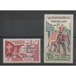 Laos - 1960 - Nb 69/70
