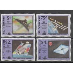 Saint-Vincent - 1991 - No 1244/1247 - espace