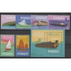 Cuba - 2015 - No 5436/5441 - BF 325 - bateaux
