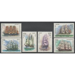 Russia - 1981 - Nb 4847/4852 - boats