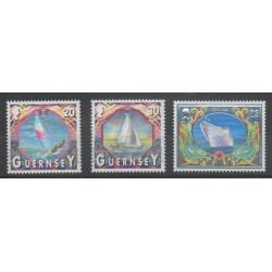 Guernesey - 2000 - No 865/867 - bateaux