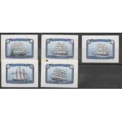 Danemark - 2015 - No 1809/1812 - bateaux