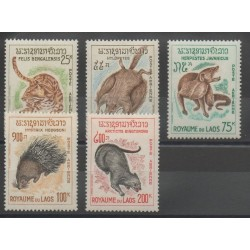 Laos - 1965 - Nb PA 47/PA 51 - various animals