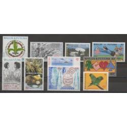 Wallis et Futuna - Année complète - 1994 - No 462/471