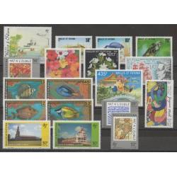 Wallis and Futuna - Complete year - 1993 - Nb 444/461