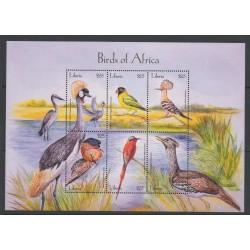 Liberia - 2001 - No 3431/3436 - oiseaux