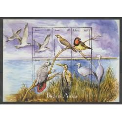 Liberia - 2001 - No 3443/3448 - oiseaux
