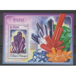 Saint Thomas and Prince - 2014 - Nb BF 772 - minerals - gems