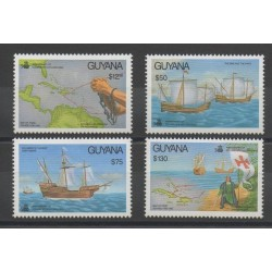Guyana - 1992 - No 2718/2721 - Christophe Colomb