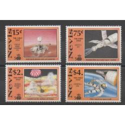 Nevis - 1991 - No 558/561 - espace