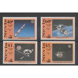 Nevis - 1991 - No 597/600 - espace