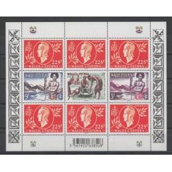 Wallis et Futuna - Blocs et feuillets - 2014 - No F 828 - Seconde Guerre mondiale
