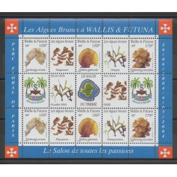 Wallis and Futuna - Blocks and sheets - 2004 - Nb BF 17 - sea life