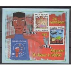 Wallis et Futuna - Blocs et feuillets - 2004 - No BF 14 - santé ou croix-rouge