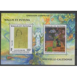 Wallis and Futuna - Blocks and sheets - 2003 - Nb BF 13 - paintings